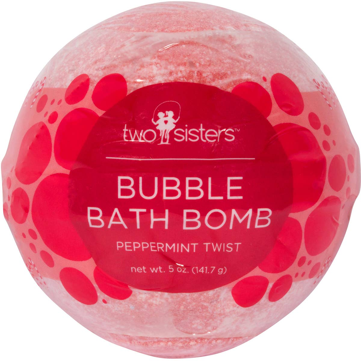 Two Sisters Spa - Peppermint Twist Bubble Bath Bomb
