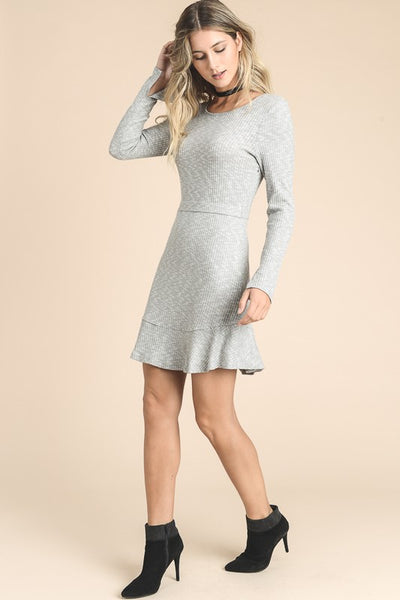 Ribbed Calvin Dress