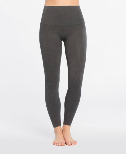 Spanx Look at Me Now Leggings- charcoal