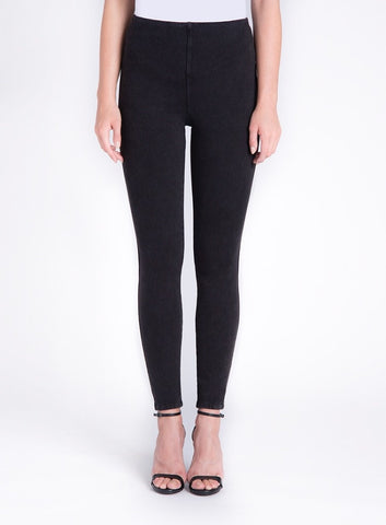 Toothpick Denim Dark Gray Lyssé