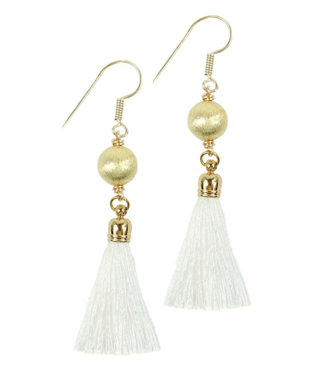 The Fay Earring - White