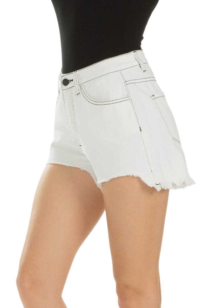 KanCan Shorty- White
