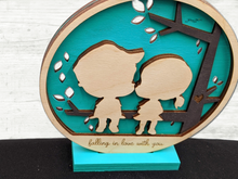 Load image into Gallery viewer, Precious Vignette - Fall in love with you sign