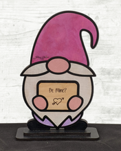 Load image into Gallery viewer, Sweet & Salty Gnome - Interchangeable Sign Desk or Shelf Sitter