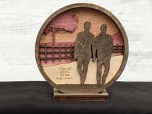 Load image into Gallery viewer, Couple Walking Together - Anniversary - Valentine's - Engagement Gift