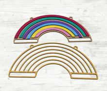 Load image into Gallery viewer, DIY Rainbow Sign Painting Kit