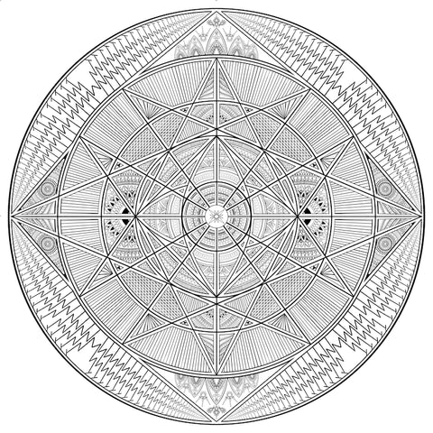 Archangel Metatron Mandala. Christine Alexandria/Angel Chatter