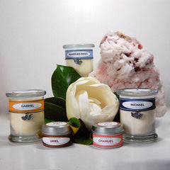 Our Candles not only fill your space with divine energies, they can help to quiet the mind and expand the soul