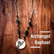 Angel Intention Medallions - Angel Chatter - Christine Alexandria  - Angel of Healing Raphael