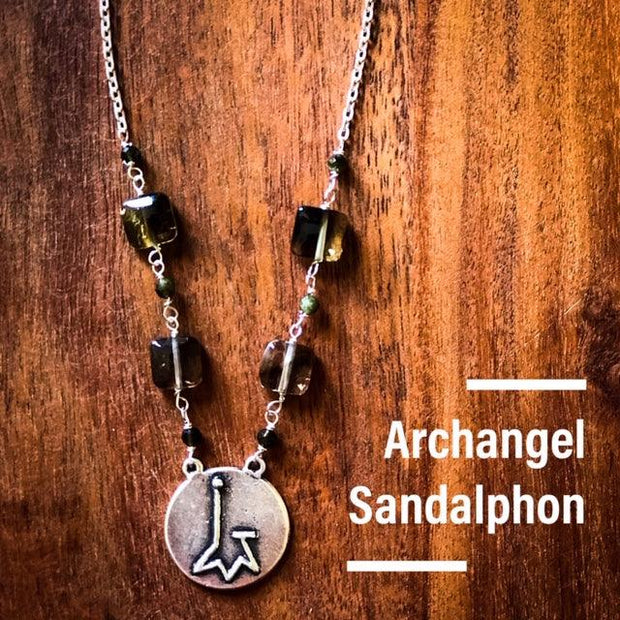 Angel Intention Medallions - Angel Chatter - Christine Alexandria - Sandalphon - Angel of Grounding