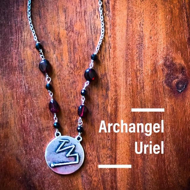 Angel Intention Medallions - Angel Chatter - Christine Alexandria - Uriel, Angel of Safety