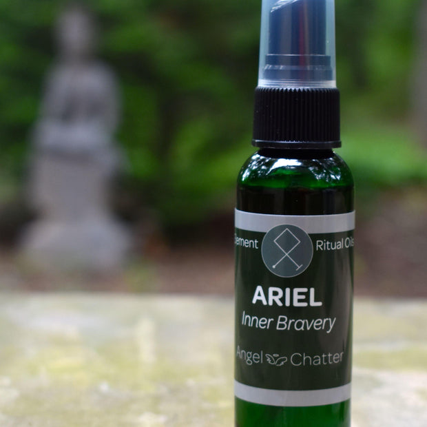 Angel  Ritual Misters - Angel Chatter - Christine Alexandria - Pure Essential Oil Angel Oil - Ariel