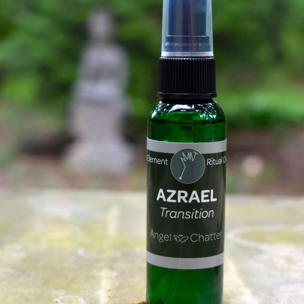 Angel  Ritual Misters - Angel Chatter - Christine Alexandria - Pure Essential Oil Angel Oil - Azrael