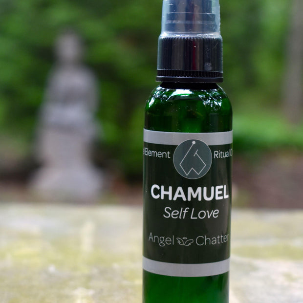 Angel  Ritual Misters - Angel Chatter - Christine Alexandria - Pure Essential Oil Angel Oil - Chamuel