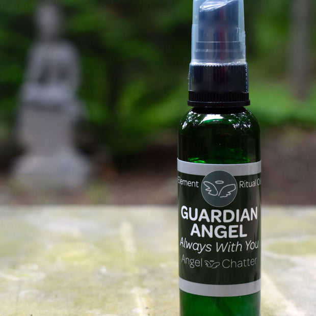 Angel  Ritual Misters - Angel Chatter - Christine Alexandria - Pure Essential Oil Angel Oil -  Guardian Angel