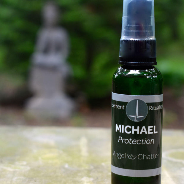 Angel  Ritual Misters - Angel Chatter - Christine Alexandria - Pure Essential Oil Angel Oil - Michael
