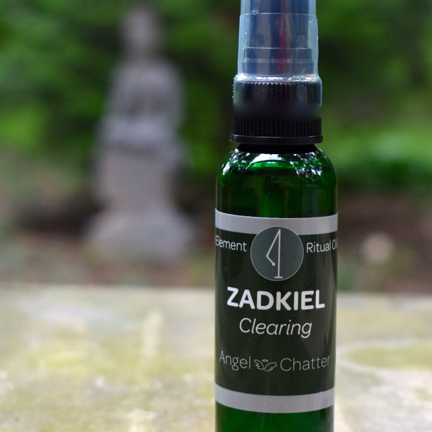 Angel  Ritual Misters - Angel Chatter - Christine Alexandria - Pure Essential Oil Angel Oil - Zadkiel