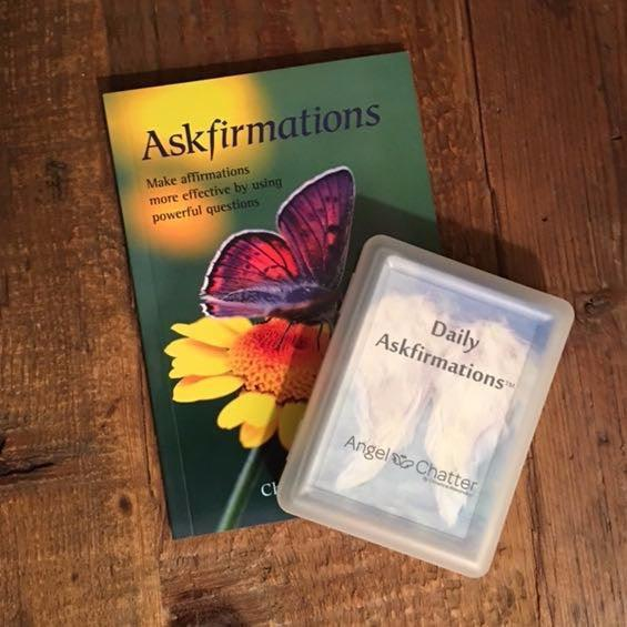 The Askfirmation Set - Angel Chatter - Christine Alexandria - Affirmation Book