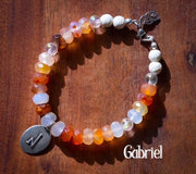 Angel Intention Bracelets - Angel Chatter - Christine Alexandria - Gabriel - Citrine