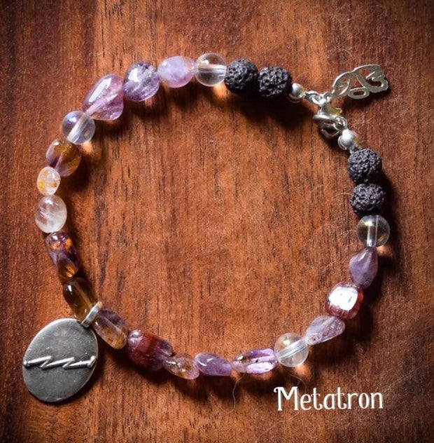Angel Intention Bracelets - Angel Chatter - Christine Alexandria - Metatron - Auralite