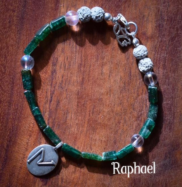 Angel Intention Bracelets - Angel Chatter - Christine Alexandria - Raphael