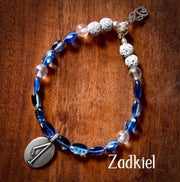 Angel Intention Bracelets - Angel Chatter - Christine Alexandria - Zadkiel/Tanzanite