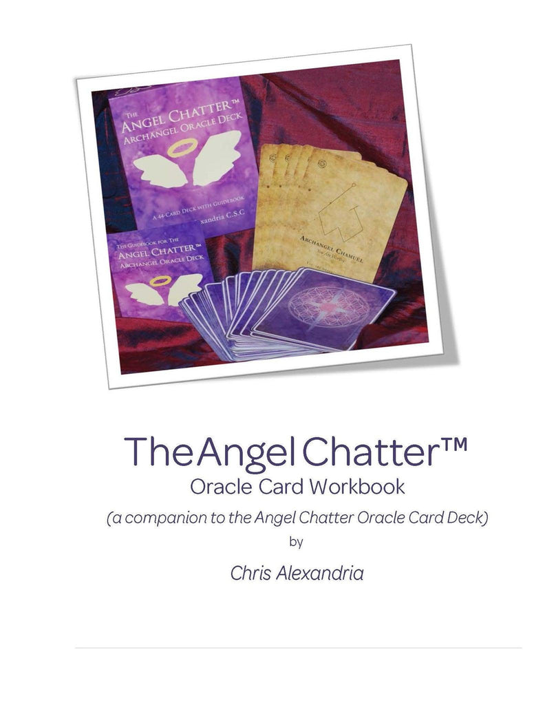 Angel Chatter Oracle Card Workbook - Angel Chatter