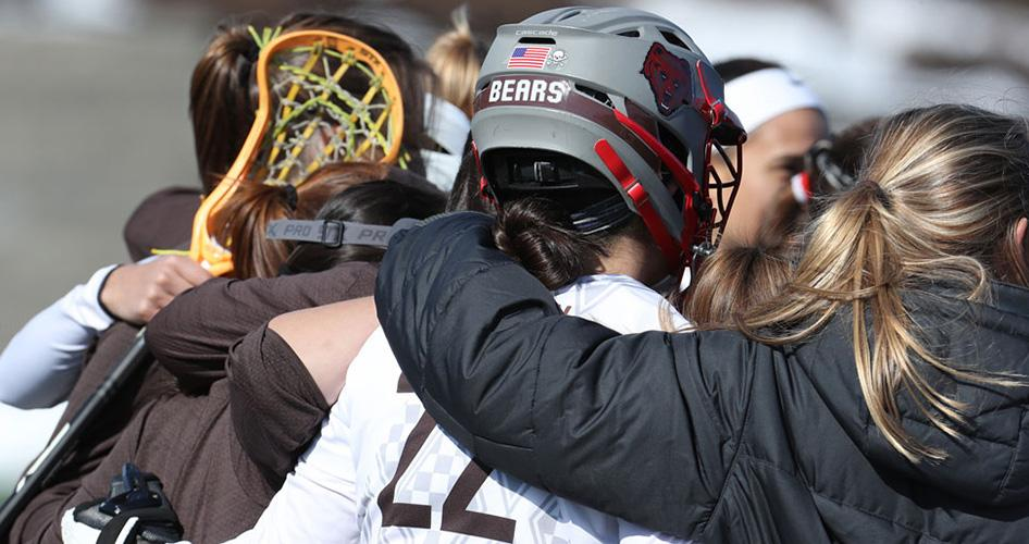 Brown becomes the first Division I women's lacrosse team to require helmets for all players this fall