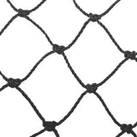 "Pop Up Backstop 21' x 11'-6"" Replacement net by CrankShooter™- NEW Version 2.0-3mm Knotted Nylon PE Net-FREE SHIPPING"