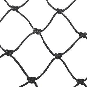 Backstop 10' x 30' net/replacement net by CrankShooter®- NEW 3.0mm Knotted Poly-E Net, FREE SHIPPING