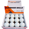 LAX PRO Bundle Kit Includes (Tournament 6x6x7 Goal + 5mm Net + Shot Trainer + 1 Dozen White Game Balls)