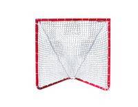 Lacrosse Goal - 4x4x4 Box Lacrosse Goal 26 lbs - INCLUDES 5mm White CrankShooter® Net-FREE SHIPPING