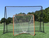 CURRENTLY OUT OF STOCK, AVAILABLE FOR BACKORDER - EXPECT FEB 2 DELIVERY - CrankCage Backstop - 14' x 10' x 7' by CrankShooter® (Introductory Price) Ships Free