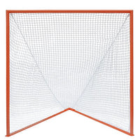 Lacrosse Goal High School/College Game Goal 6'x6'x7' by CrankShooter® 118 lbs. Heavy 6mm or 7mm WHITE Net Included - Free Shipping