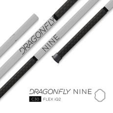"EPOCH 2019 - Dragonfly | 9 - 30"" C30 STIFF Flex iQ5, Concave, (Attack/Middie) Mens Lacrosse Shaft.  Made in USA - FREE SHIPPING"