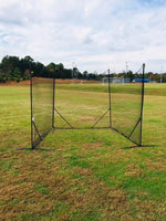 NEW! - Backstop CURV 10' x 30' Adjustable Angle System w/3mm net by CrankShooter.