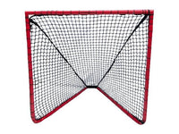 CURRENTLY OUT OF STOCK, AVAILABLE FOR BACK ORDER WITH FEB 2 DELIVERY - Lacrosse Goal - 4x4x4 Box Lacrosse Goal 26 lbs - INCLUDES 5mm Black CrankShooter® Net - FREE SHIPPING