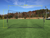 NEW! - Pop-Up Backstop 21' x 11' By CrankShooter® (INTRODUCTORY PRICE), SHIPS FREE