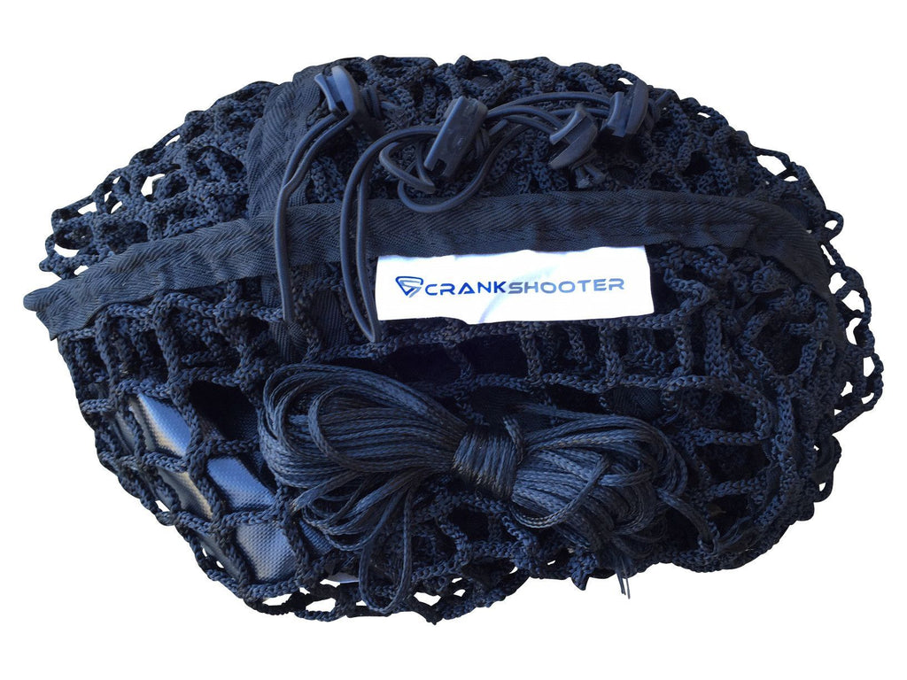 "(4'6""ft x 4' x 5ft) 5mm Black BOX Lacrosse Net by CrankShooter® - FREE Shipping"