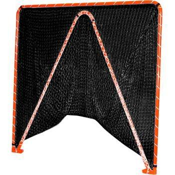 Lacrosse Goal-Folding w/4mm, 5mm or 6mm BLACK net-35 lbs 6'x6'x7' by CrankShooter® FREE Shipping.