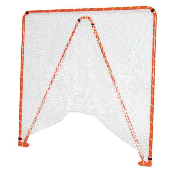 Lacrosse Goal-Folding/5mm white net-35 lbs 6'x6'x7' by CrankShooter™ FREE Shipping.