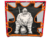 "NEW! Hi-Impact ""BIG GOALIE"" BOX Lacrosse Shot Trainer by CrankShooter™ For 4'x4' BOX GOALS ONLY -Triple Stitching - FREE Shipping"
