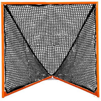Lacrosse Goal-Tournament Goal w/ 4mm, 5mm, 6mm or 7mm BLACK NET,  6'x6'x7' by CrankShooter™, 35 lbs-Choose Net below-Free Shipping.