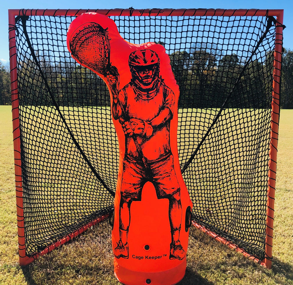 NEW! Cage Keeper™ by CrankShooter® - Inflatable Goalie, Dummy, Shooting Trainer - FREE SHIPPING!
