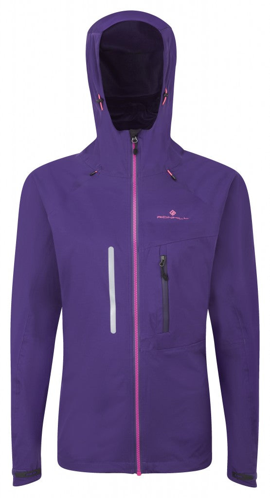 Women's  Vizion Storm Jacket in Wildberry/Fluo Pink