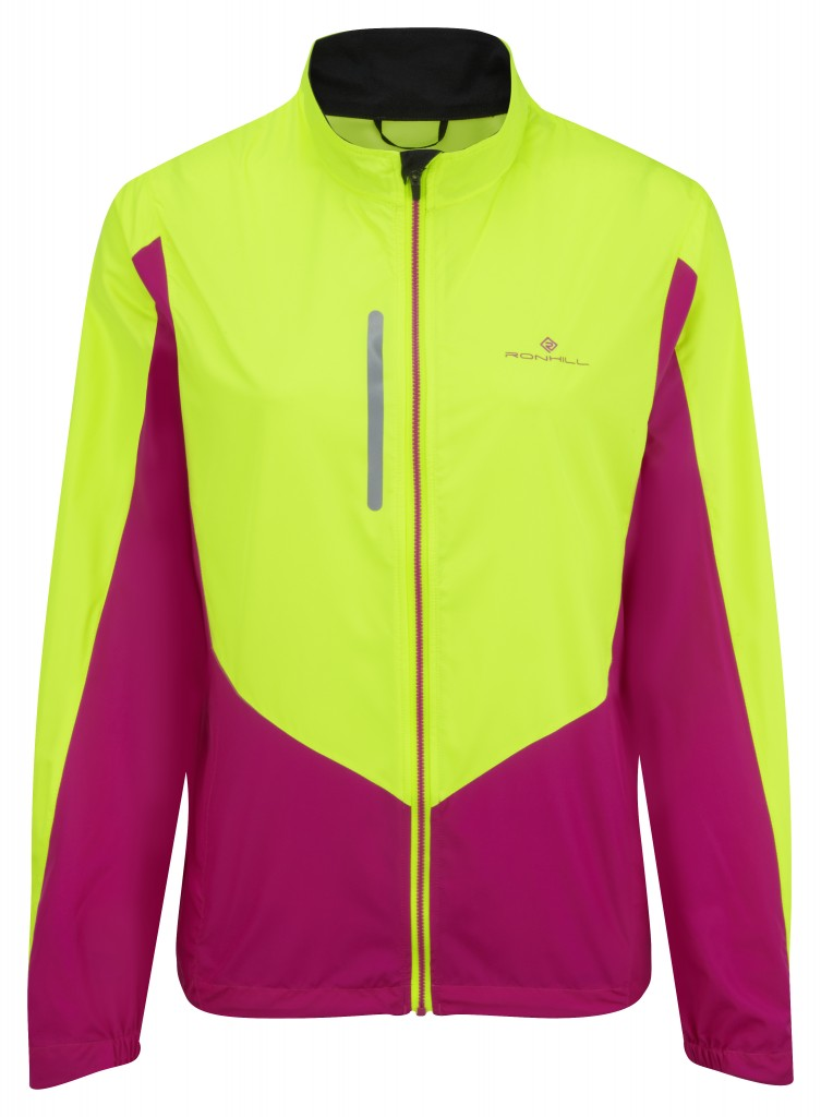 Windlite Jacket comes in Fluo colours