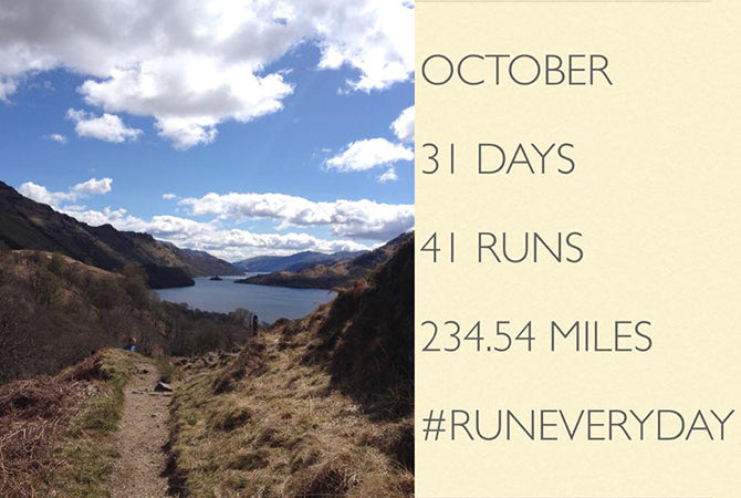#RunEveryDay Challenge 2015 - Norrie Hunter, Facebook