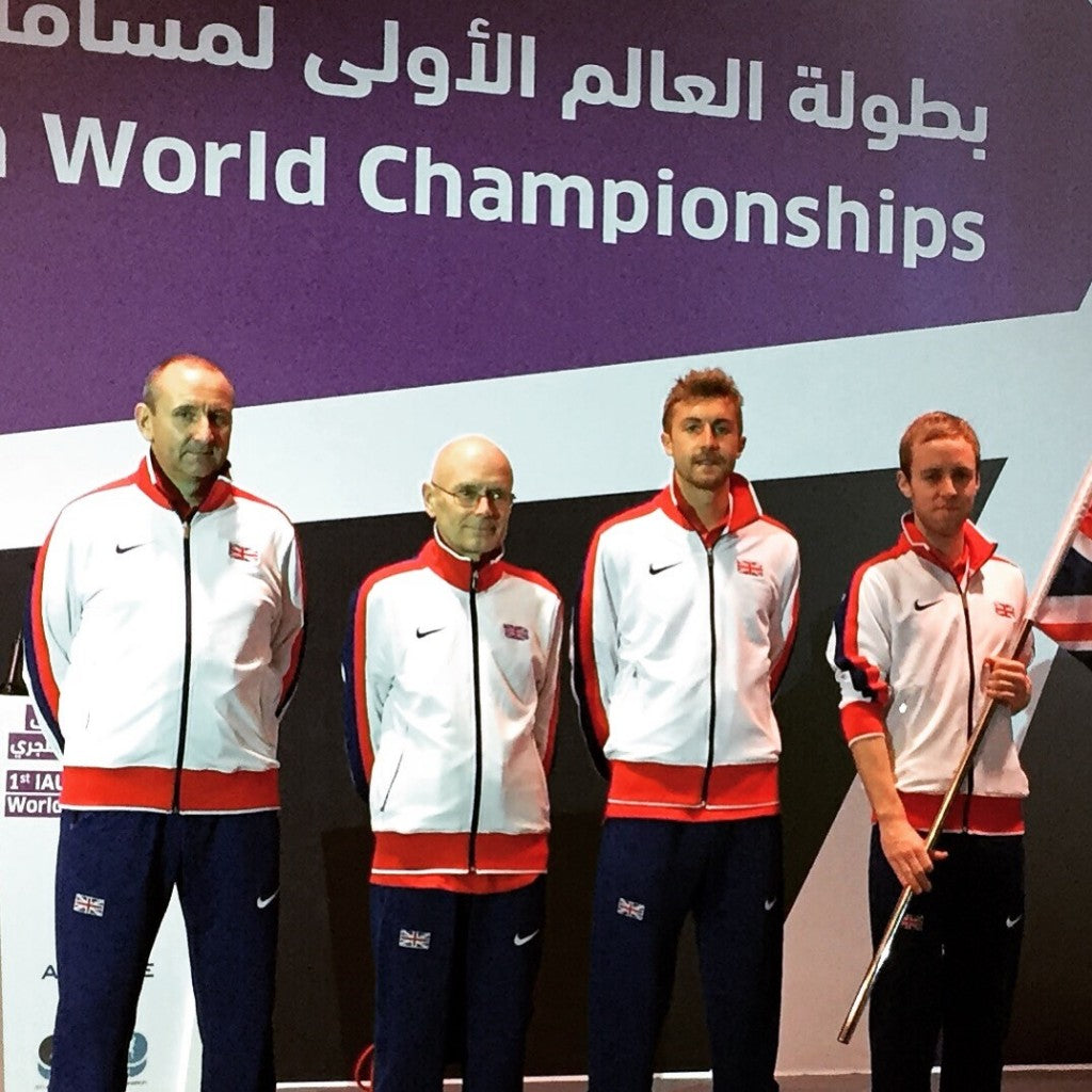 Great Britain Team in Doha