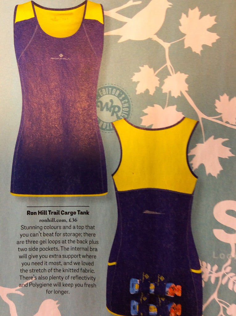 Trail Cargo Tank in Electric Purple/Sun RRP £36
