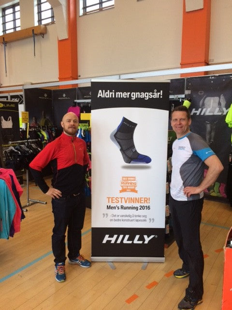 Kasper and Ulf at the Marathon Expo